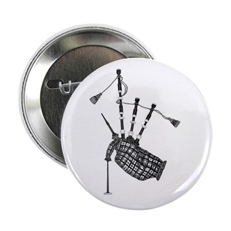 """bagpipe 2.25"""" Button (100 pack)"""