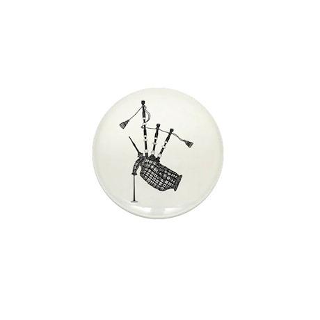 bagpipe Mini Button (100 pack)