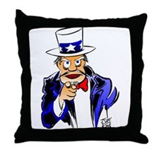 """""""OLD SOLDIERS NEVER DIE"""" Throw Pillow"""
