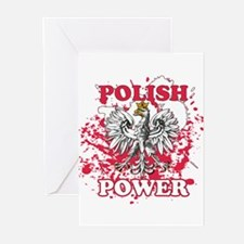 Polish power Greeting Cards (Pk of 10)