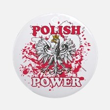Polish power Ornament (Round)