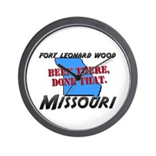 fort leonard wood missouri - been there, done that