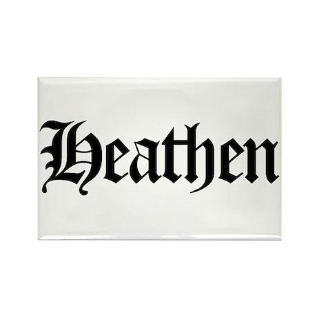 Heathen Rectangle Magnet (10 pack)