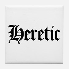 Heretic Tile Coaster