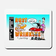 """RUST & WRINKLES"" Mousepad"