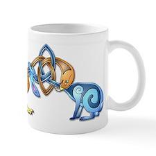 Celtic bird and rabbit Mug