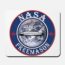 NASA Free Masons Mousepad