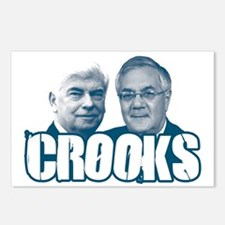 Chris and Barney Crooks Postcards (Package of 8)