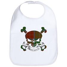 Brewer Tartan Skull Bib