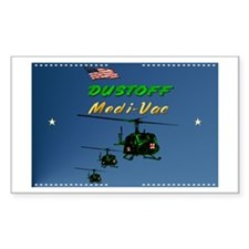 MediVac Rectangle Sticker 10 pk)