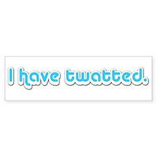 Twatted - Bumper Bumper Sticker