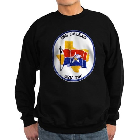 USS Dallas SSN 700 Sweatshirt (dark)
