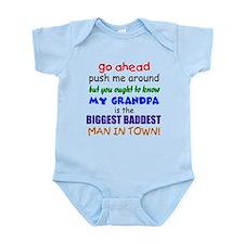 Baddest Grandpa Infant Bodysuit