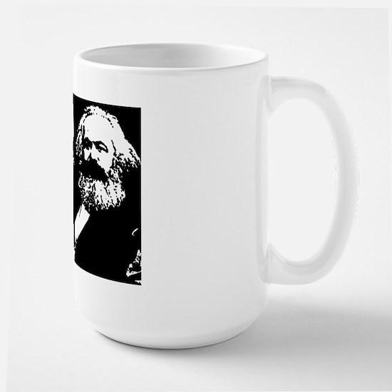 Karl Marx Large Mug