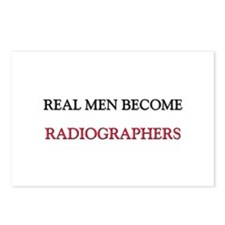 Real Men Become Radiographers Postcards (Package o
