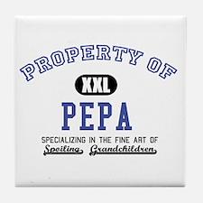 Property of Pepa Tile Coaster