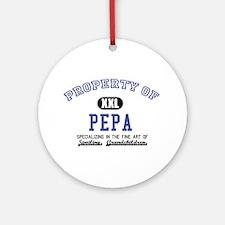 Property of Pepa Ornament (Round)