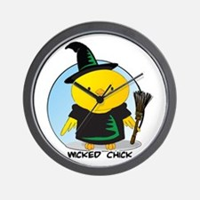 Wicked Chick Wall Clock