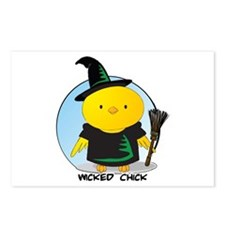 Wicked Chick Postcards (Package of 8)