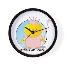 Popular Chick Wall Clock