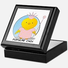 Popular Chick Keepsake Box