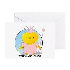 Popular Chick Greeting Card