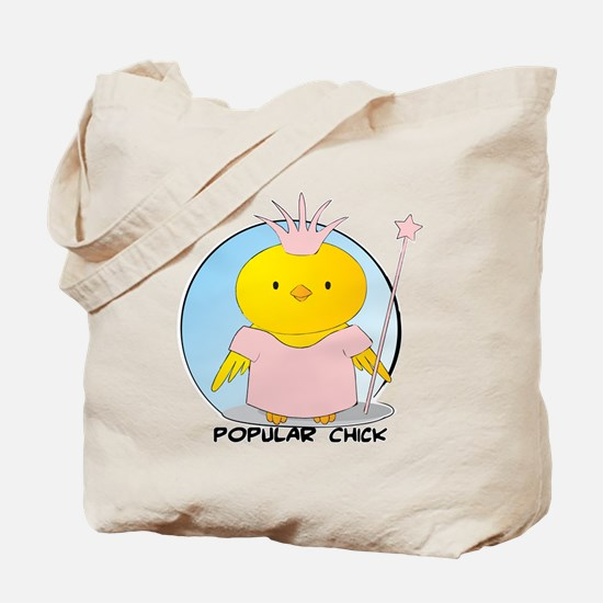 Popular Chick Tote Bag