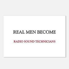 Real Men Become Radio Sound Technicians Postcards