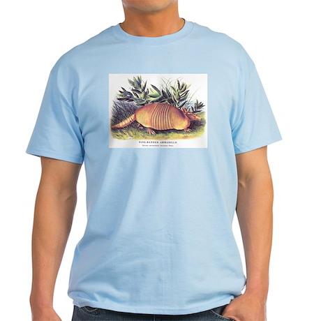 Audubon Armadillo Animal Light T-Shirt