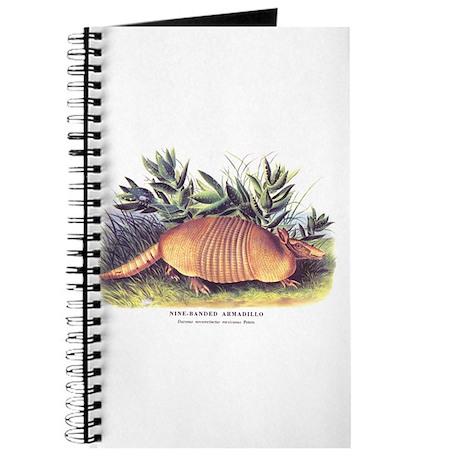 Audubon Armadillo Animal Journal