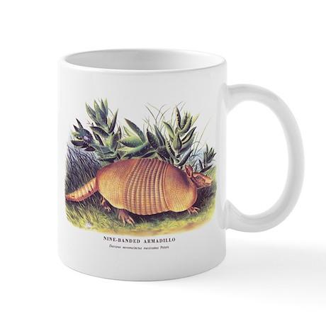 Audubon Armadillo Animal Mug