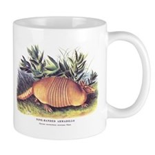 Audubon Armadillo Animal Mug