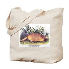 Audubon Armadillo Animal Tote Bag