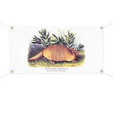 Audubon Armadillo Animal Banner