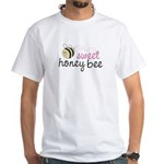 Sweet Honey Bee White T-Shirt