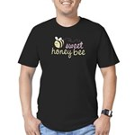 Sweet Honey Bee Men's Fitted T-Shirt (dark)