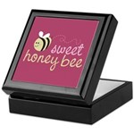 Sweet Honey Bee Keepsake Box