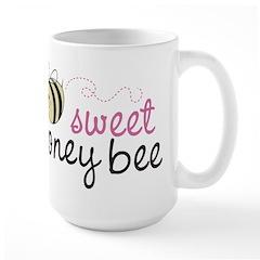 Sweet Honey Bee Large Mug