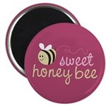 "Sweet Honey Bee 2.25"" Magnet (10 pack)"
