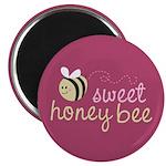"Sweet Honey Bee 2.25"" Magnet (100 pack)"
