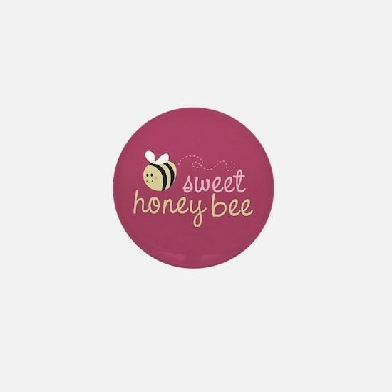 Sweet Honey Bee Mini Button