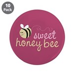 "Sweet Honey Bee 3.5"" Button (10 pack)"
