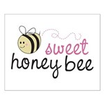 Sweet Honey Bee Small Poster
