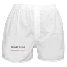 Real Men Become Radio Broadcast Assistants Boxer S