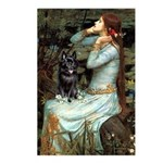 Ophelia / Schipperke #4 Postcards (Package of 8)
