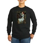 Ophelia / Schipperke #4 Long Sleeve Dark T-Shirt