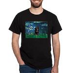 Lilies / Schipperke #4 Dark T-Shirt