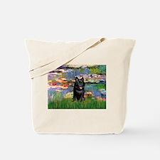 Lilies / Schipperke #4 Tote Bag