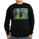 Bridge / Schipperke #4 Sweatshirt (dark)