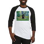 Bridge / Schipperke #4 Baseball Jersey
